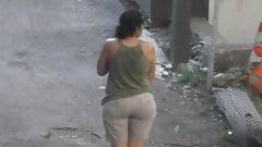 Amazing Bubble Butt Latina Neighbor