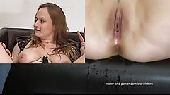 Giggling Orgasm Enema 1
