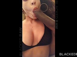 BLACKEDRAW Cheating girlfriend hooks up with black stud