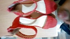 Fucking muy wife red sandals