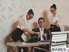 Babes - Office Obsession - Aidra Fox and Ariana Marie and Ma