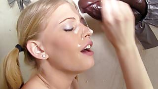 Allie James Interracial Gloryhole