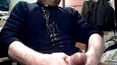 big dick daddy bear cumming 2