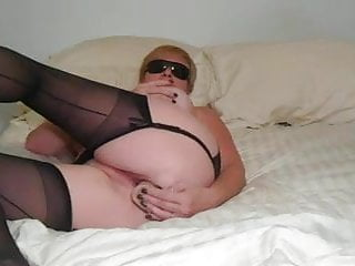 MILF Shari in Stockings