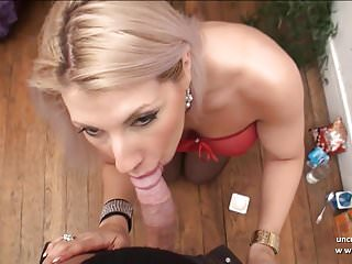 Busty French blonde whore banged sodomized w ass 2 mouth POV