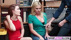 Cute Cuties Get Banged For Shoplifting