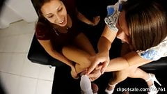 In Chastity and Humiliated by 2 Hot Girls