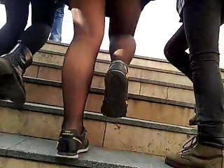 Turkish teen girls upskirt