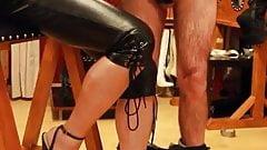 Capri leather and lash