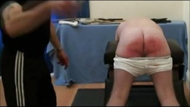 Diesel trunks lowered for restrained caning