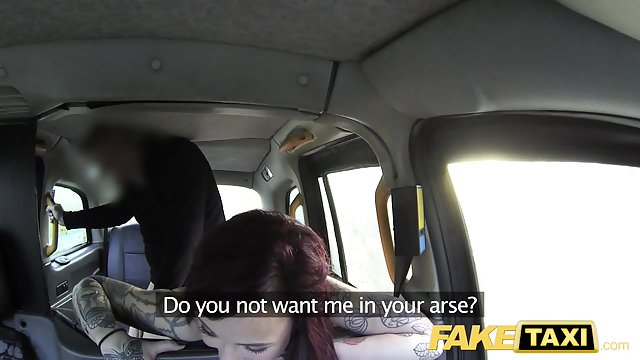 Preview 1 of Fake Taxi American redheads tight asshole fucked by driver