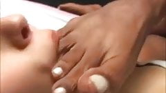 Ebony Goddess Foot Worship