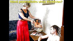 Slideshow with Finnish Captions: Mom Valentina 1