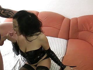 german big breasted amature gets her 3 holes used