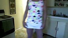 Cross dresser Lisa Love clitty prance Apr 2014