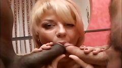 2 dicks in her ass