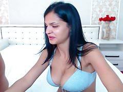 This Brunette Babe Rides Her Boyfriend Huge Cock
