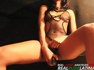 Adriana Malao Plays With Her Pussy