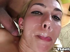 Epic shemale cumshot compilation