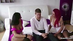 Two German Hooker fuck with St