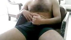 Straight guys feet on webcam #237