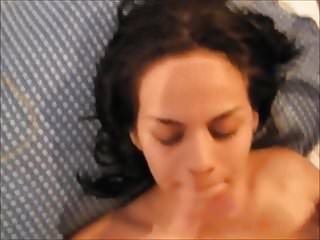 Amateur facial 313 huge load pov