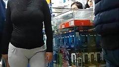 linda mujer en leggins 2
