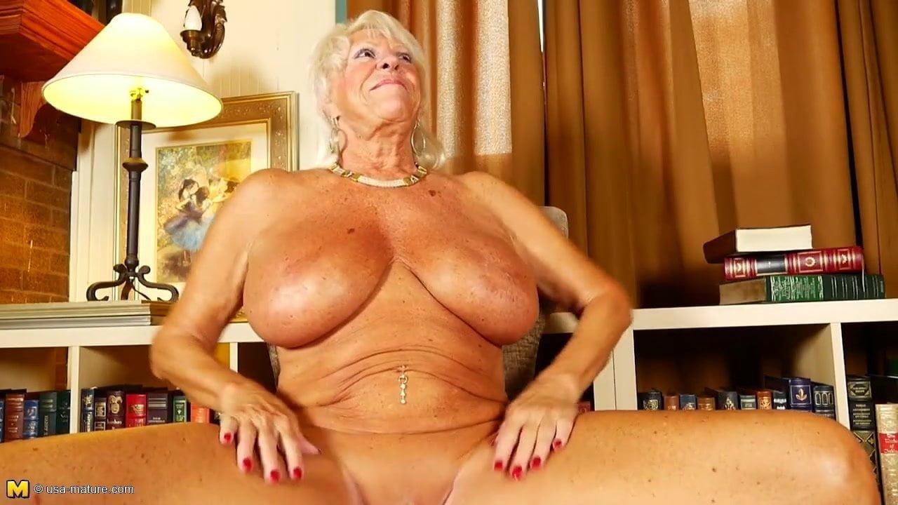 Tanned granny