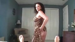 Mom Wears Her Cougar Dress For son