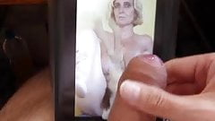 Tribute to Laura2011 - Cumshot on your picture 10 08 2011