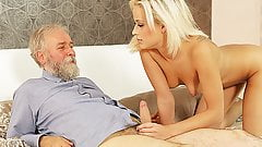 DADDY4K. Amazing dad and young girl sex ended with cumshot..