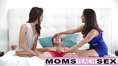 Moms Teach Sex - Stepmom fucks stepdaughters boyfriend