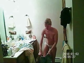 Spied On Hidden Shower After A Swim
