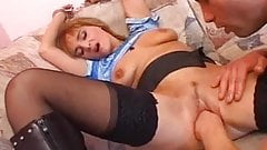 She loves having her pussy fisted