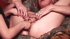 I am Pierced Granny with pierced pussy fisted