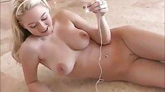 Dancing girl strips naked