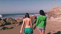 Lesbian Trip From The Beach