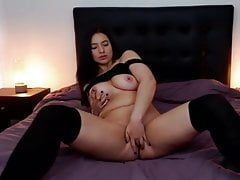 super hot perfect tits finger fuck
