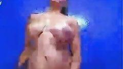 big tit whore dancing