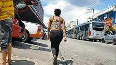 Negra gostosinha da favela de leg preta