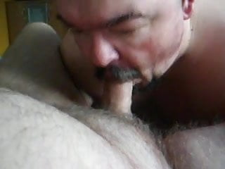 on my knees servicing dick