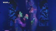Celebs Get Naked Under Blacklights