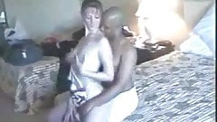 Hotwife INTERRACIAL in hotel