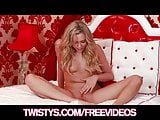Mia Malkova rubs herself to orgasm & licks her fingers clean