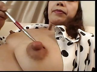 More Japanese Mature Nipple Play Cireman