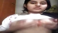 cute pakki girl showing her boobs