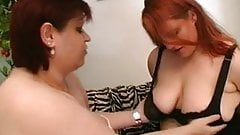 Fat Chick lesbienne porno gicle gingembre