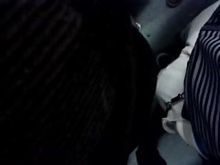 Encoxada107:Thank god, we're packed lik sardines on da train