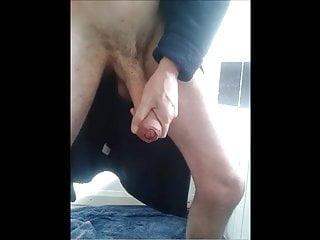 My Bent Uncut Cock
