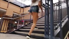 Sexy teen asses in college